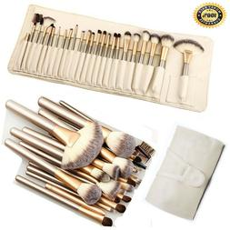 32pcs Pro Makeup Brush Set  Powder Foundation Eyebrow Brush