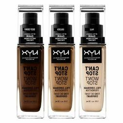 NYX Can't Stop Won't Stop Full Coverage Foundation - Chooser