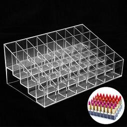 clear 40 lipstick holder display stand cosmetic