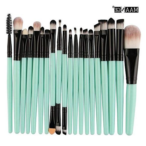 Cinidy 20 pcs Brush tools Toiletry Up