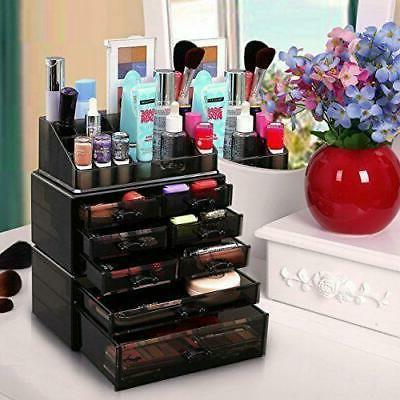 Holder Makeup Stand Drawers Cosmetic Organizer Lipstick Stor