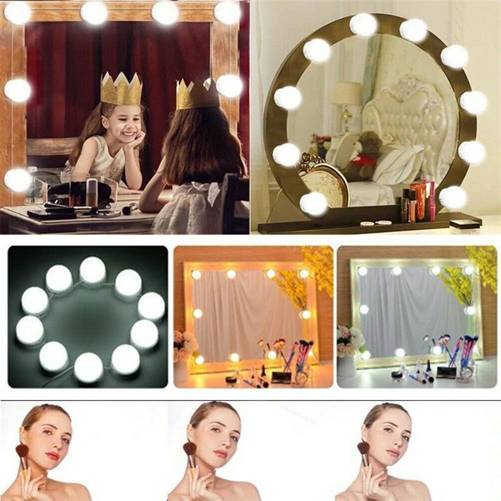 Hollywood Style LED Vanity Mirror Lights for Makeup USA