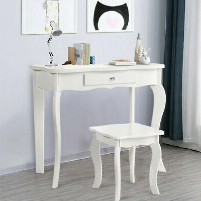 Kids Makeup Dressing Vanity Table