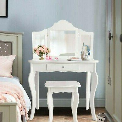 Kids Dressing Vanity Table Stool