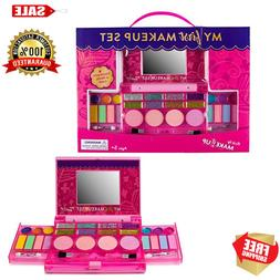 Kids&Little Girls Princess Makeup Set Kit Fold Out BEAUTIFUL