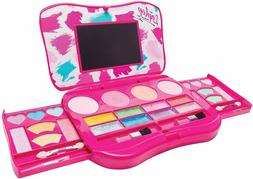 My First Girls Makeup Set Kit Fold out Palette w/ Mirror Non