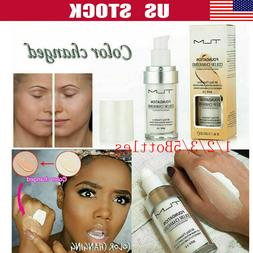 TLM Flawless Color Changing Foundation Makeup Base Face Liqu