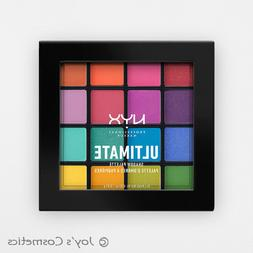 "1 NYX Ultimate Shadow Palette Eyeshadow "" USP04 - Brights """
